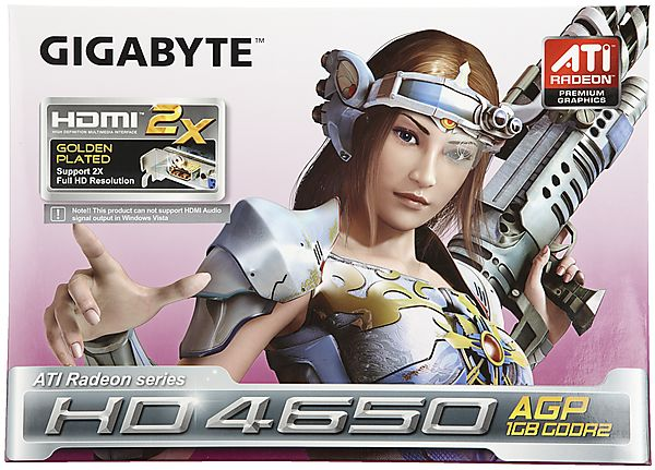 ATI Radeon 4650 Graphics Card