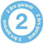 Clas gir 2 års garanti