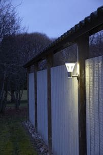 PIR Solar Wall Light