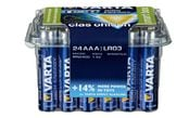 Alkalische Batterie Varta High Energy 24er-Pack