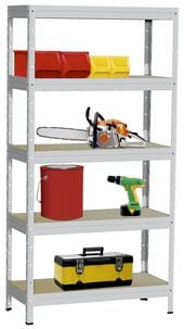 5-Tier Metal Shelf Unit