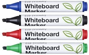 Whiteboardpenna Ballograf Friendly Whiteboard 4-pack
