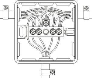 Koblingsboks Schneider IP65