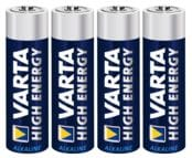 Alkalische Batterie AAA/LR6 Varta High Energy