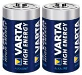 Alkaliskt batteri D/LR20 Varta High Energy