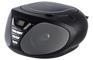 CD-soitin, jossa FM-radio