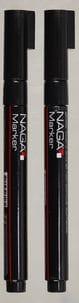 Naga penn til whiteboard/glass