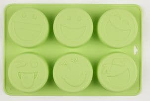 Smiley Silicone Mould