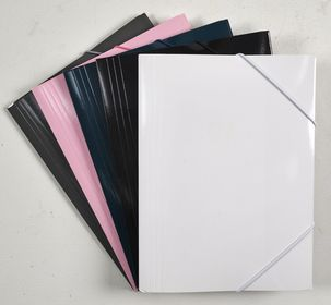 A4 Elasticated Folder