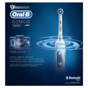 Eltandborste Oral-B Genius 8000 White