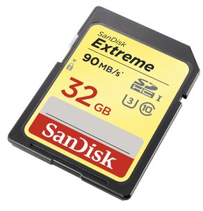 Sandisk Extreme SDHC UHS 1 Memory Card