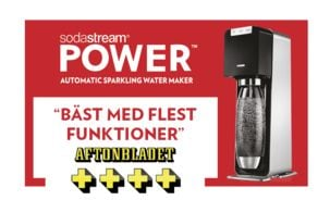 Sodastream Power kullsyremaskin