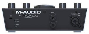M-Track 2x2 ljudkort USB/USB-C, M-Audio