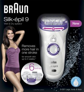 Epilator Braun Silk-épil 9 Wet & Dry 9-561