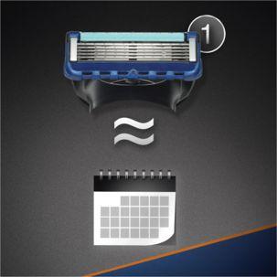 Gillette Fusion ProGlide Razor Blade Cartridges 4-pack