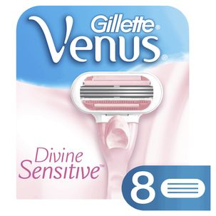 Gillette Venus Divine Sensitive barberblader, 8-pack