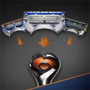 Gillette Fusion ProGlide Power Chrome Edition barberhøvel