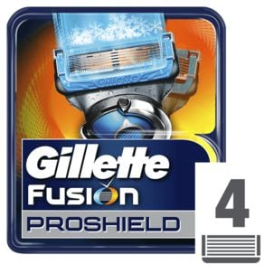 Rakblad Gillette Fusion ProShield Chill 4-pack