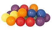 Valoketju, värikkäät pallot