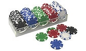 Extra pokermarker Texas Hold'em
