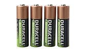 Rechargeable batteries Duracell Stay Charged