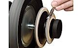 LA-120 profilerad läderbrynskiva