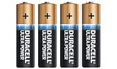 Alkalische Batterie AAA/LR6 Duracell Ultra Power