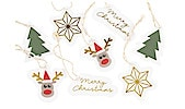 Etiketter til julegaver