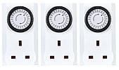 Mini Plug-in Timer, 3-pack