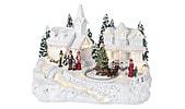 Musical Light-Up Christmas Village Scene