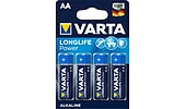 Varta Longlife Power AA/LR6 alkalisk batteri