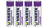 Varta Professional AAA/FR03 Lithium Battery