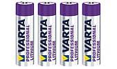 Litiumparisto AAA/FR03 Varta Professional