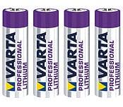 Varta Professional AAA/FR03 litiumbatteri
