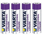 Varta Professional AA/FR6 Lithium Battery