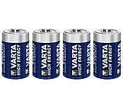 Varta High Energy C/LR14 Alkaline Batteries