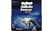 Gillette Sensor Excel barberblader, 5-park