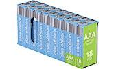 Alkalische Batterie AAA/LR03 18er-Pack Clas Ohlson