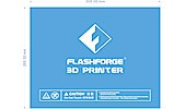Build sheet -arkki 3D-tulostimeen FlashForge Guider II 3D 38-8466