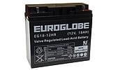 AGM-batteri 12 V, 18 Ah