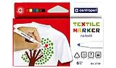 Textilmärkpennor 6-pack