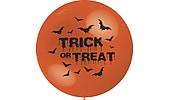 Halloweenilmapallo Trick or treat