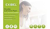 Exibel Shredder Lubrication Paper