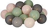 Ljusslinga med bollar Northlight