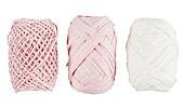 Geschenkband rosa/weiß