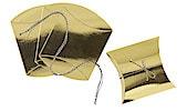 Geschenkboxen 4er-Set, golden