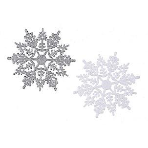 10 cm Snowflakes