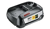 Bosch batteri, 18 V 2,5 Ah W-B