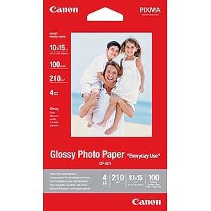 Fotopapper 10x15 cm Canon Glossy Photo GP-501