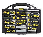34-Piece Stanley Screwdriver Set
